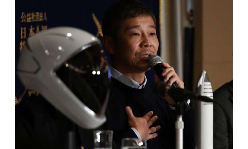 Yasaku Maezawa paid an undisclosed sum for a ticket on fellow tycoon Elon Musk's SpaceX rocket around the Moon as early as 2023