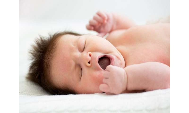 Your 6-month-old isn't sleeping through the night? relax