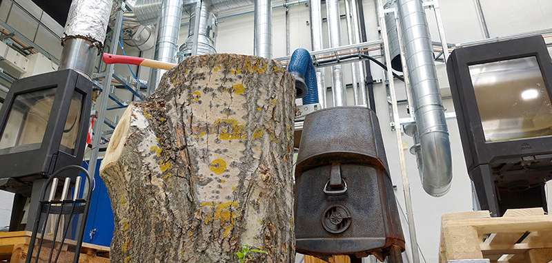 Your wood stove affects the climate more than you might think