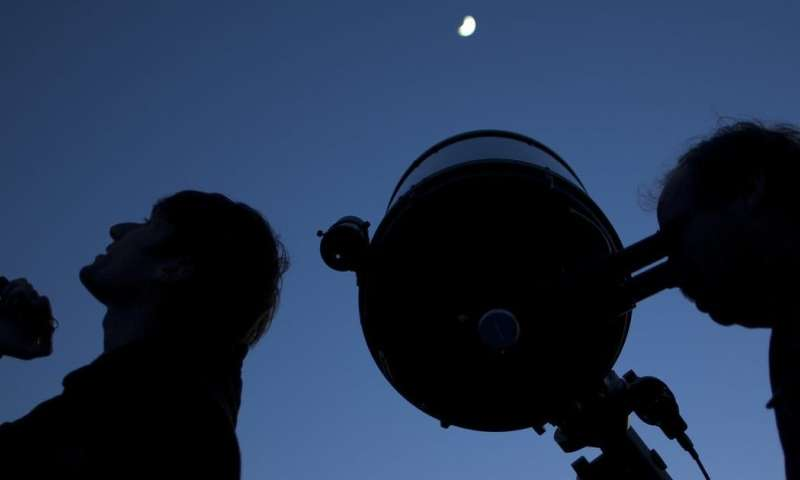 You, too, can be an astrophysicist with your new telescope