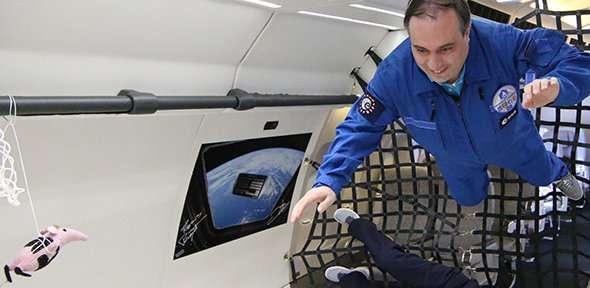Zero gravity graphene promises success in space