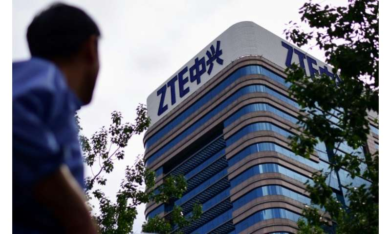 ZTE had been forced to halt operations and was on the verge of collapse after Washington announced a seven-year ban on US compan