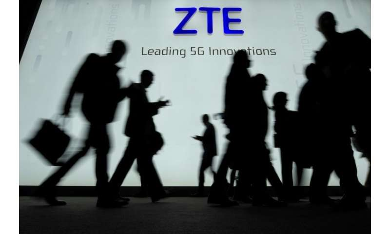 ZTE has been banned from purchasing sensitive technology from the US over its illegal sales to Iran and North Korea