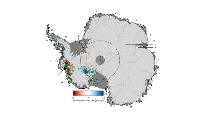 24% of West Antarctic ice is now unstable