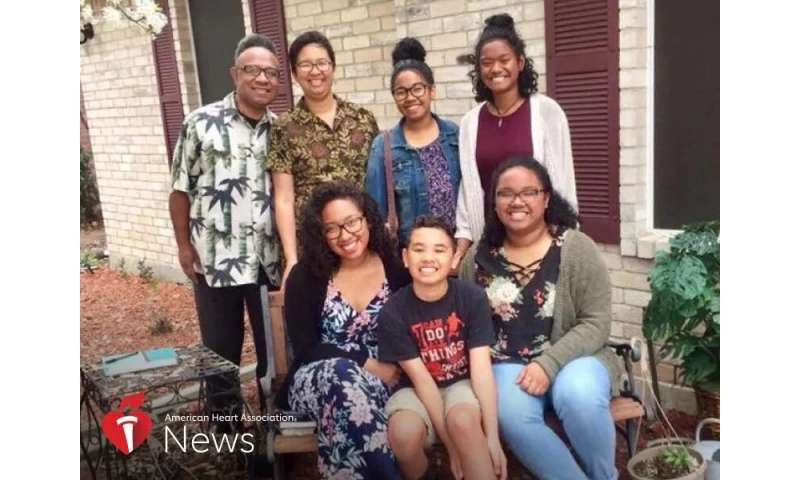 AHA news: after family's health scare: 'We had to do this together'