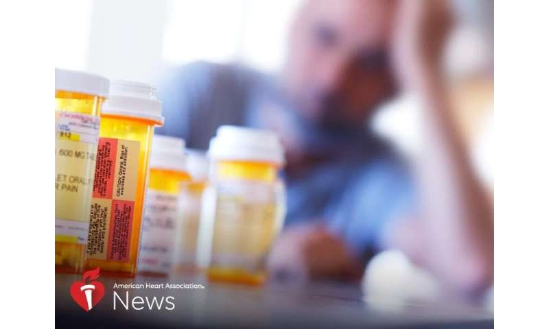 AHA news: opioid crisis brings concerns about heart dangers