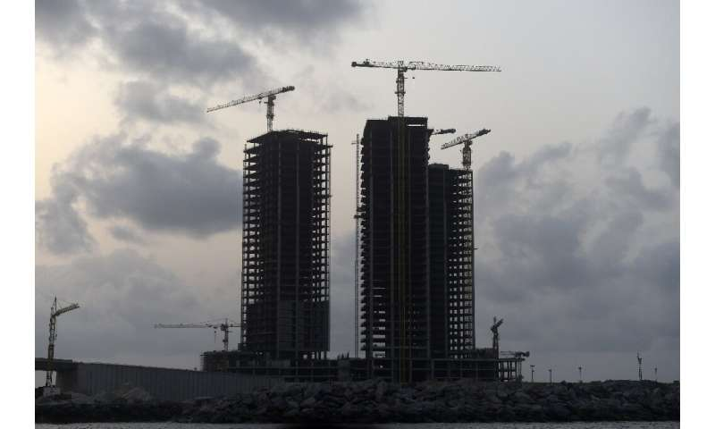 An economic downturn in recent years has stalled the mammoth undertaking, but already millions of tonnes of sand have been haule