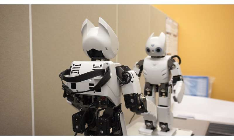 A neurorobotics approach for building robots with communication skills