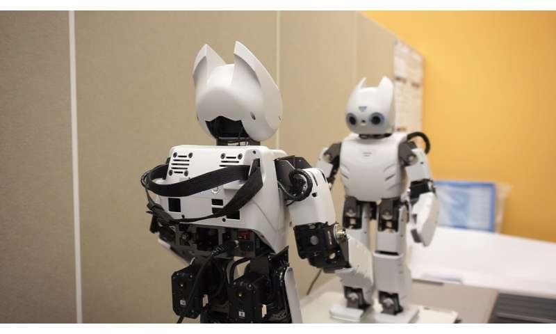 Une approche neurorobotique pour la construction de robots capables de communiquer  Une approche neurorobotique pour la construction de robots capables de communiquer 1 aneuroroboti