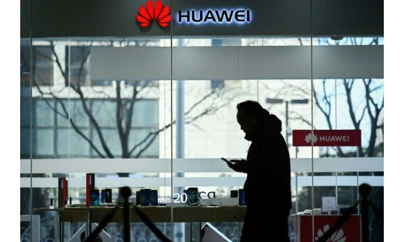 Apple's troubles in China come with the Chinese smartphone maker Huawei targeted in the United States over security issues