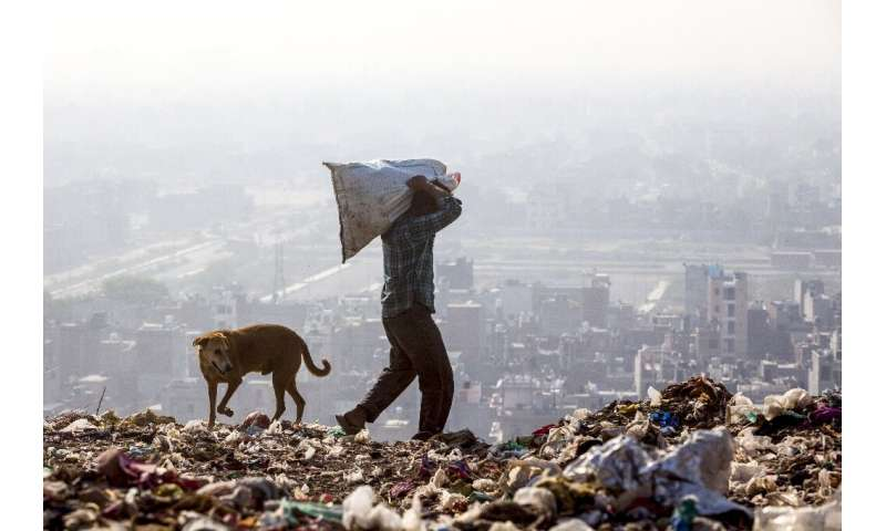 A recent study said the dump was a health risk for people living within five kilometres (three miles), including for cancer