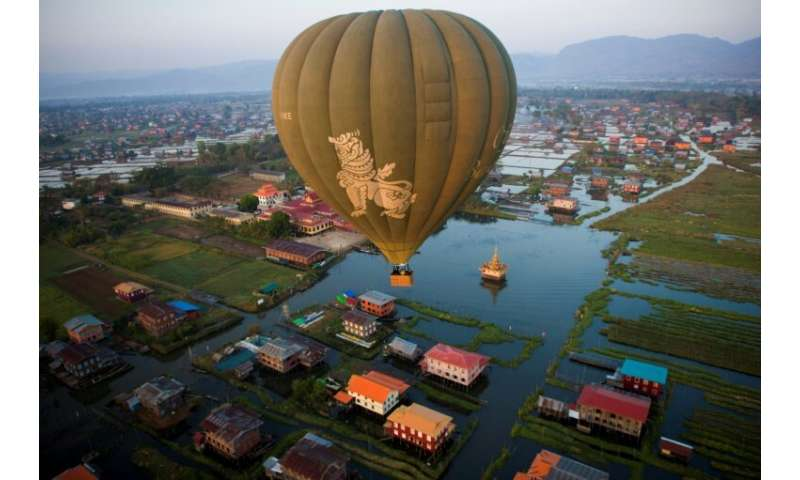 Around 200,000 foreigners and one million locals visit Inle each year