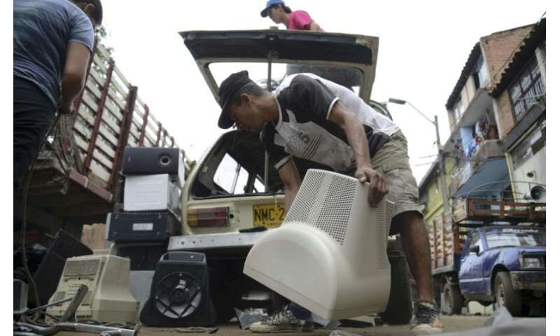 As well as old-generation phones and laptops, areas of e-waste are growing as society becomes increasingly electrified