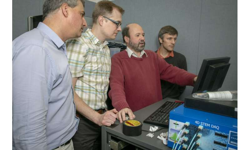 Big data at the atomic scale: New detector reaches new frontier in speed