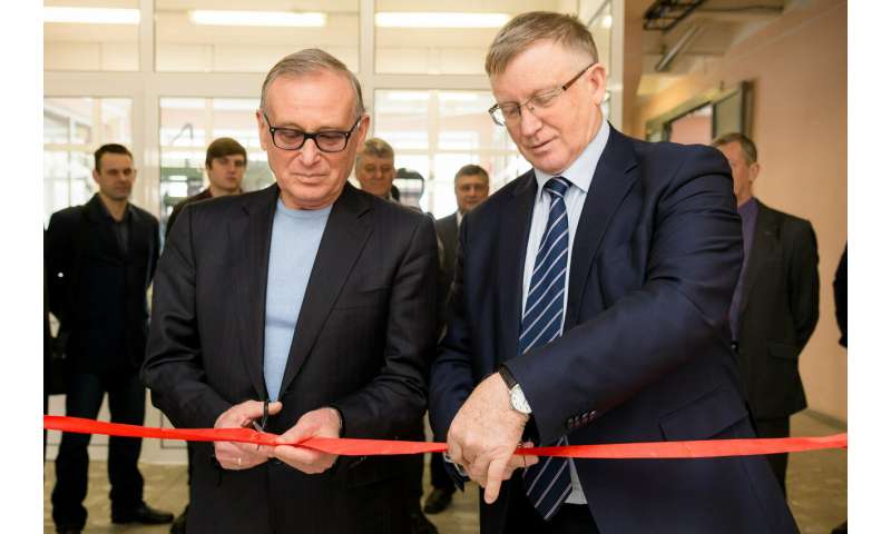 Brand-New Laboratory of Robotic Engineering Opened in Chelyabinsk