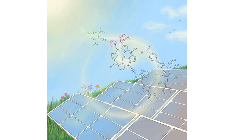Breathing new life into dye-sensitized solar cells