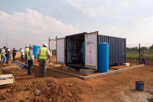 Agua limpia para el sur de África.