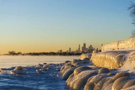 Deep freeze grips Upper Midwest, more bitter cold to come