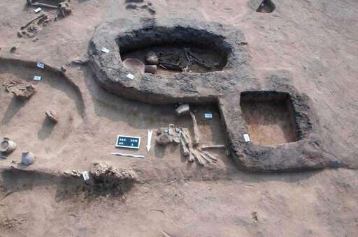 Egypt says archaeologists find ancient tombs in Nile Delta