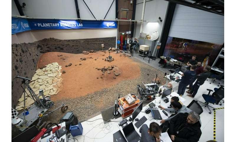 ExoMars software passes ESA Mars Yard driving test