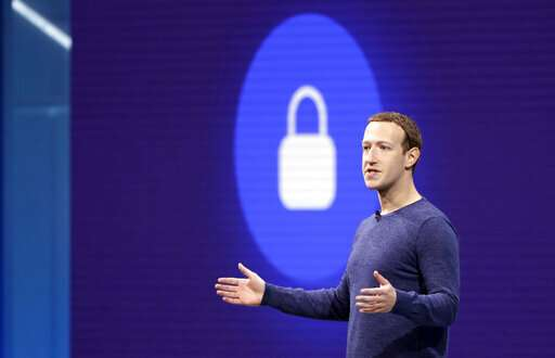 Facebook CEO says he'll double down on privacy