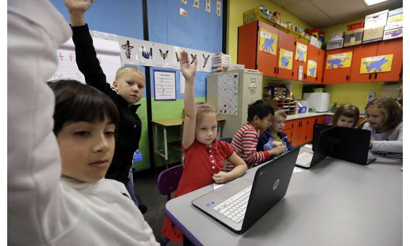 Girls outscore boys on tech, engineering, even without class