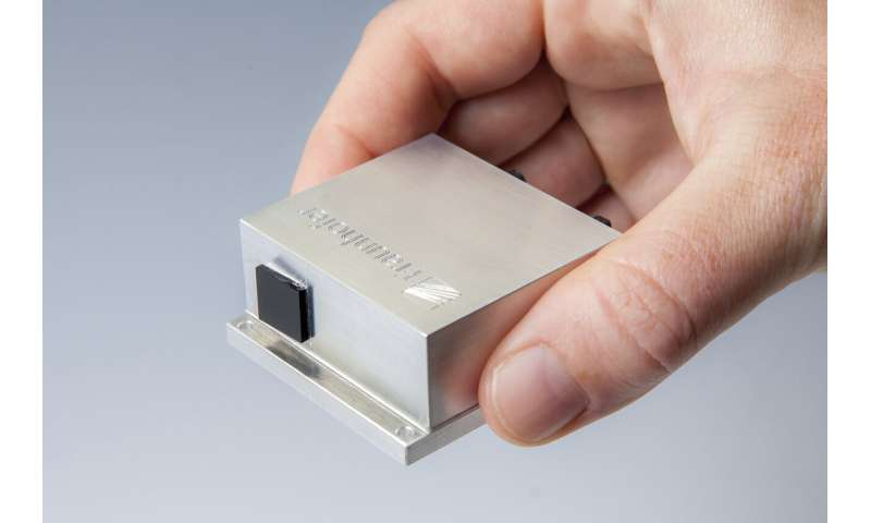 Hand-held scanner for detecting hazardous substances and explosives