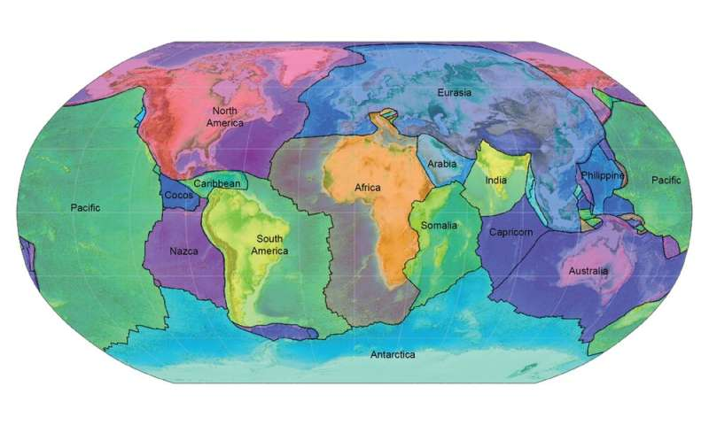 How Earth's continents became twisted and contorted over millions of years