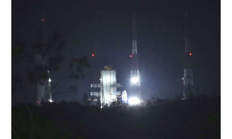 India reschedules launch of its moon mission for Monday