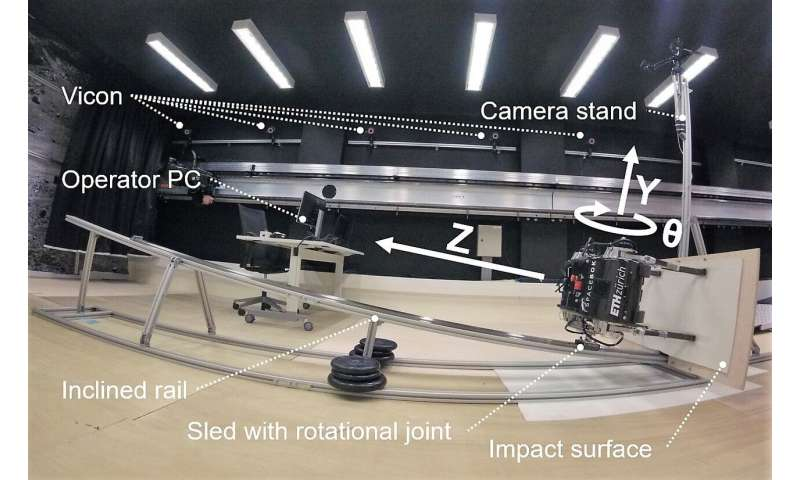 Jumping space robot 'flies' like a spacecraft