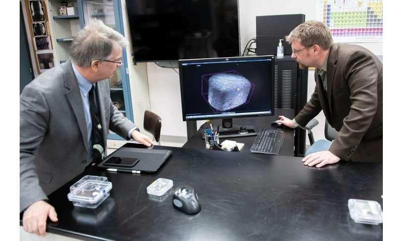 Martian meteorites land at Army lab