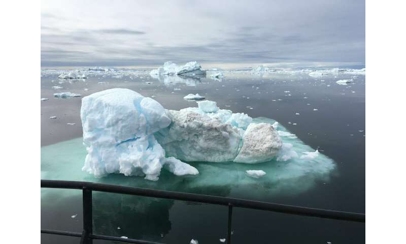 Melting ice sheets may cause 'climate chaos' according to new modelling