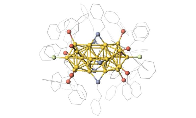 Metal nanoclusters can be used as semiconductors: Key properties observed for first time