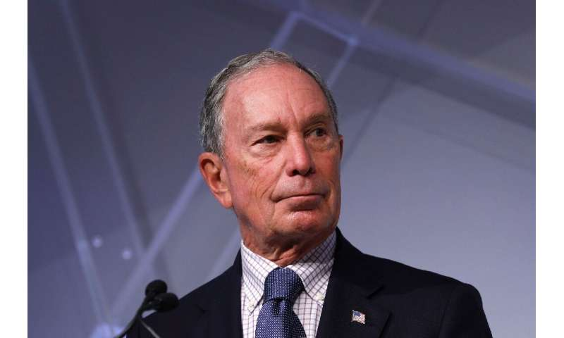 Michael Bloomberg was the centrist mayor of New York from 2002 to 2013
