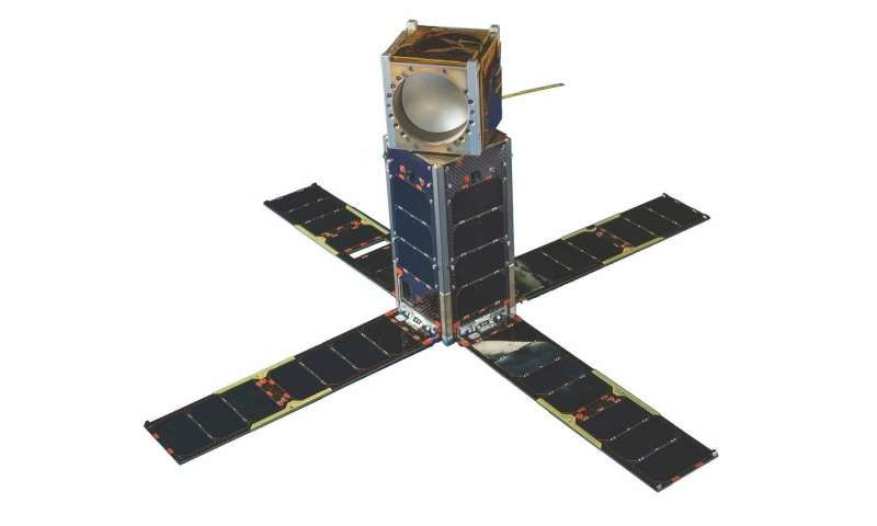 Mitigating the loss of satellite data by using CubeSat remote sensing technology