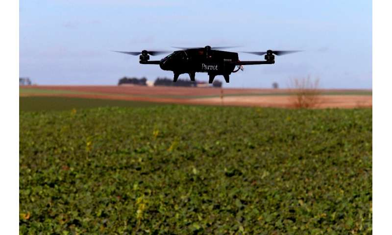 More and more wine makers in Europe are turning to drones as more accurate and less wasteful ways to spray fungicide over their