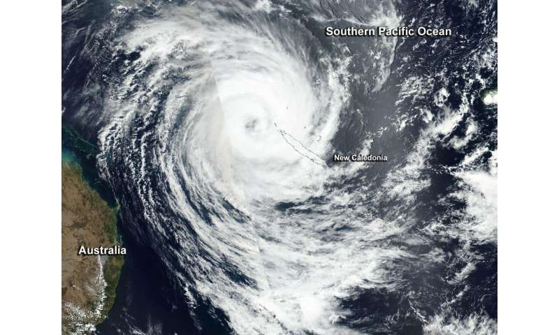 NASA-NOAA satellite sees powerful Tropical Cyclone Oma affecting New Caledonia