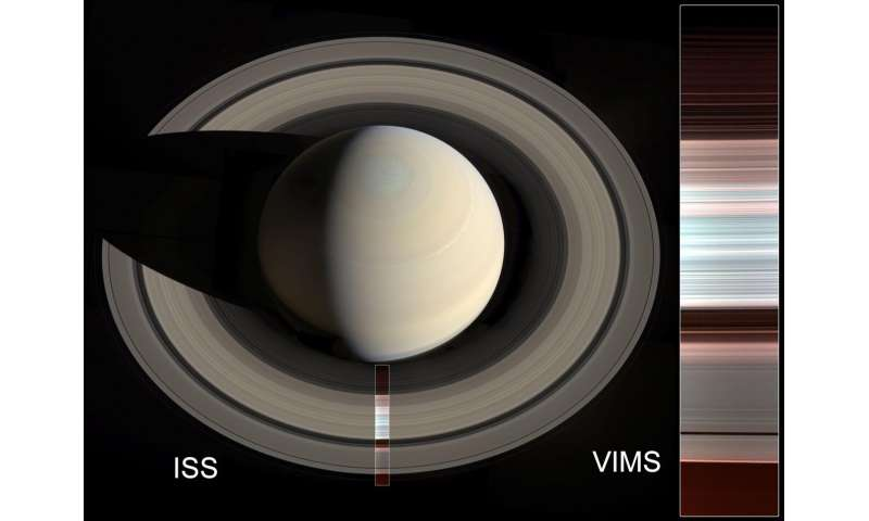 NASA's Cassini reveals new sculpting in Saturn rings