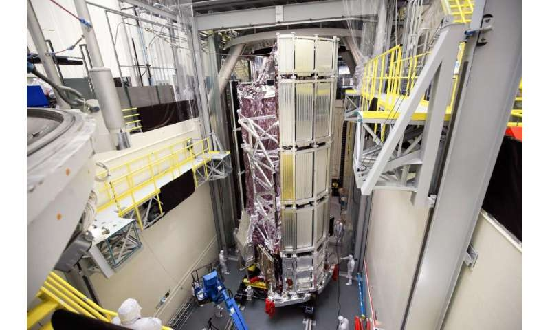 NASA's Space Telescope James Webb is successfully leaving the final thermal vacuum test