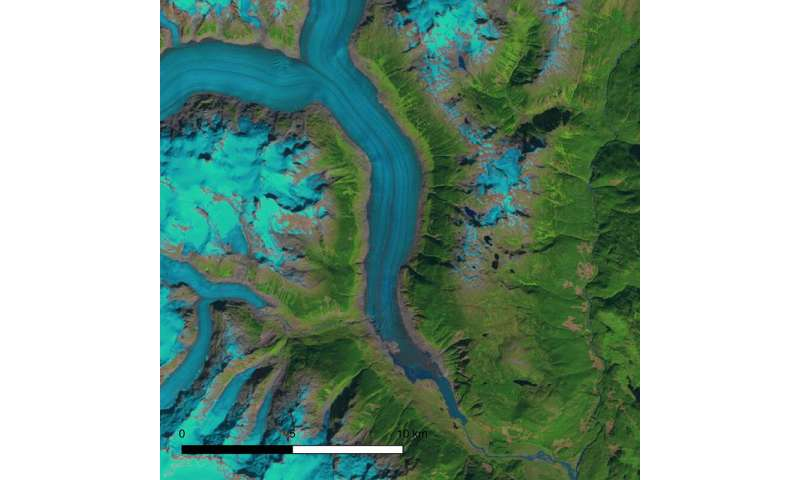 New research shows significant decline of glaciers in Western North America