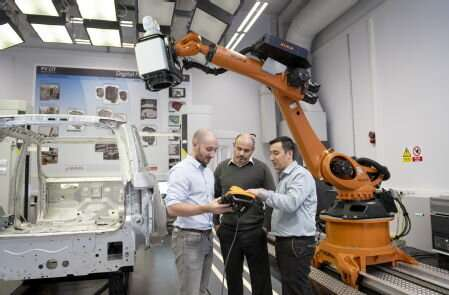 New robotic laser measurement system improves and accelerates automotive quality inspection