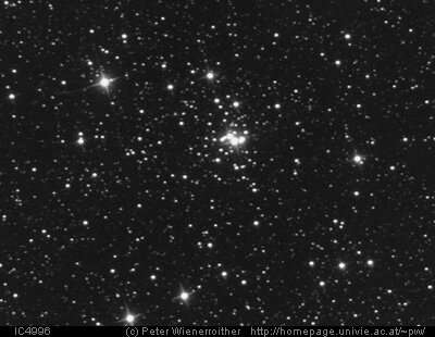 Observations uncover details about the open cluster IC 4996