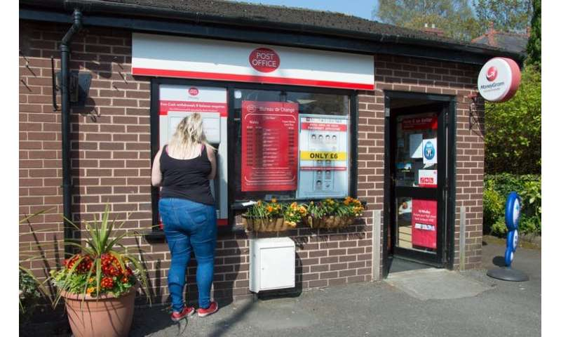 Older and poorer communities are left behind by the decline of cash