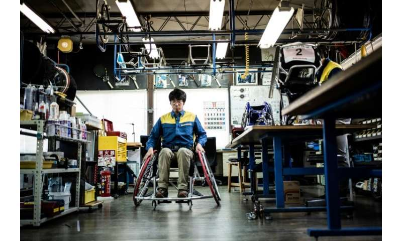 OX Engineering strives to keep cost of its wheelchairs down as much as possible—between 200,000 and 500,000 yen