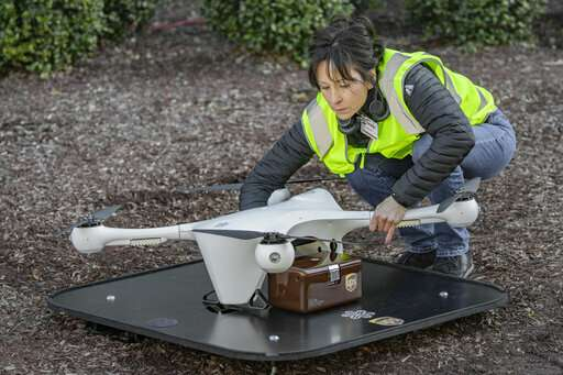 Pioneering medical drone program takes off in North Carolina