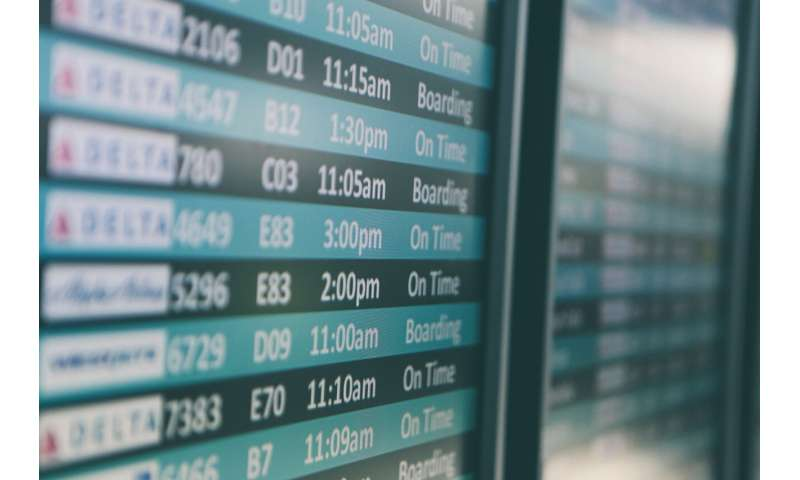 Quantum simulation can help flights run on time