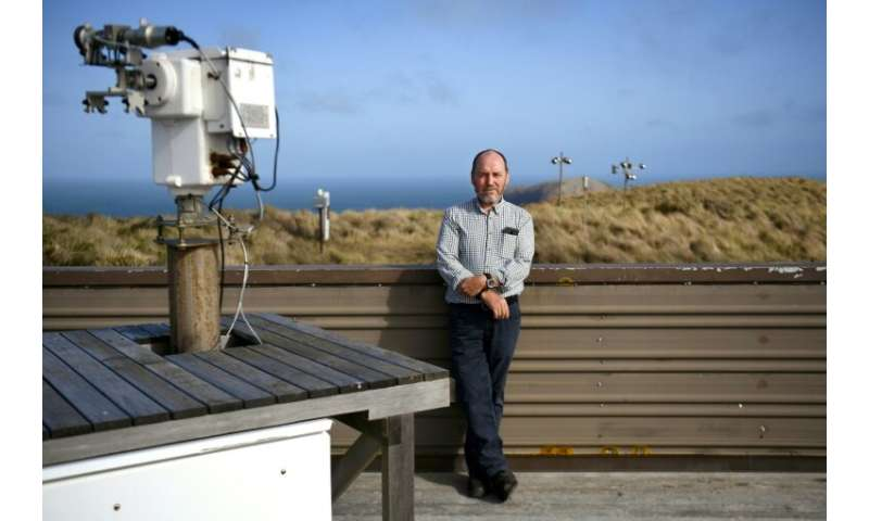 Sam Cleland is the officer in charge of the Cape Grim Baseline Air Pollution Station, a small Australian government facility wit