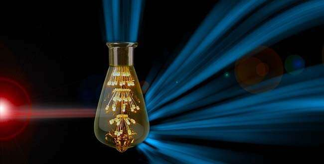 Scientists discover novel process to convert visible light into infrared light