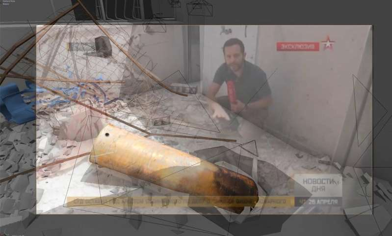 The forensic architects piecing together the story of war