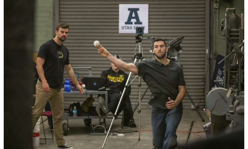 The 'Laminar Express': USU engineers dissect the two-seam fastball